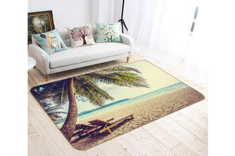 "3D Coconut Chair 183 Non Slip Rug Mat, 60cmx90cm (23.6""x35.4"")"