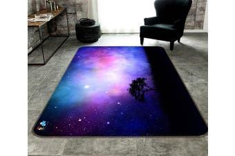 "3D Star Tree 181 Non Slip Rug Mat, 160cmx240cm (63""x94.5"")"