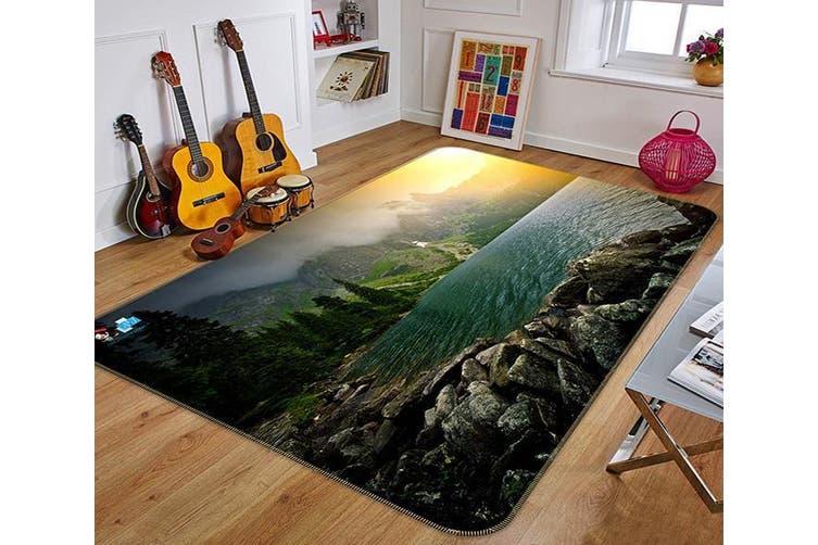"""3D Sunshine Lake 160 Non Slip Rug Mat, 80cmx120cm (31.4""""x47.24"""")"""