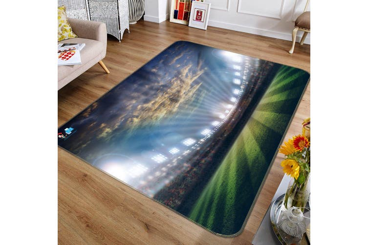 "3D Venue Light 136 Non Slip Rug Mat, 160cmx240cm (63""x94.5"")"