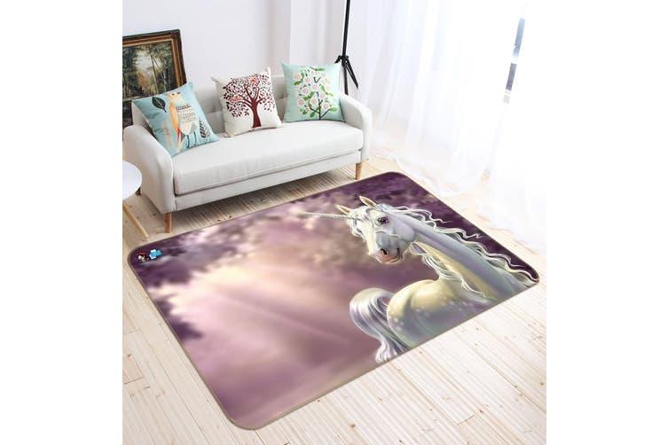 "3D Beautiful Unicorn 126 Non Slip Rug Mat, 40cmx60cm (15.7""x23.6"")"