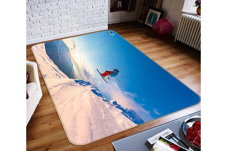 "3D Sun Skating 123 Non Slip Rug Mat, 40cmx60cm (15.7""x23.6"")"