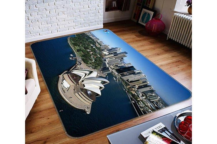 "3D Sydney Scenery 151 Non Slip Rug Mat, 160cmx240cm (63""x94.5"")"