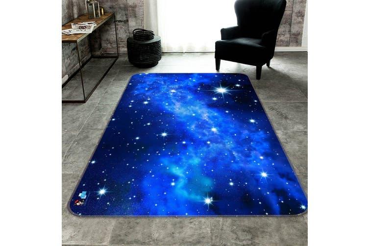 """3D Shining Stars 150 Non Slip Rug Mat, 40cmx60cm (15.7""""x23.6"""")"""