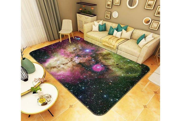 "3D Starry Sky Colored Nebula 147 Non Slip Rug Mat, 60cmx90cm (23.6""x35.4"")"