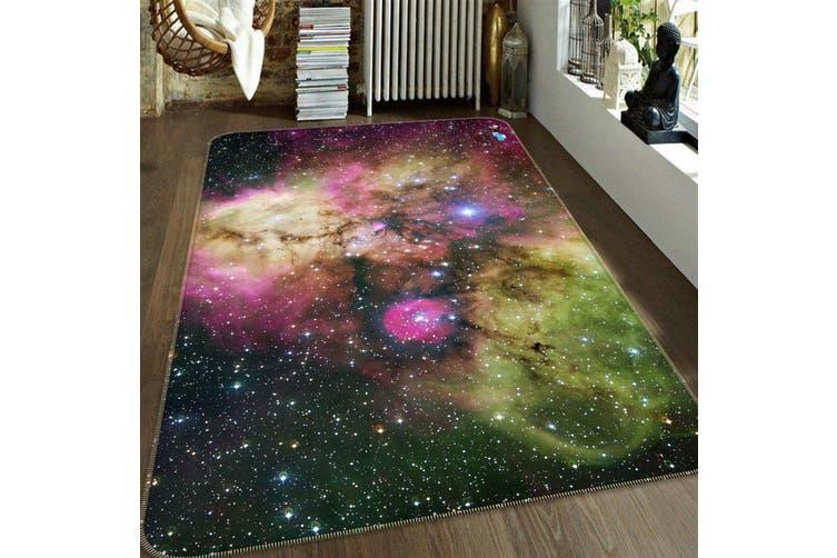 "3D Starry Sky Colored Nebula 147 Non Slip Rug Mat, 80cmx120cm (31.4""x47.24"")"