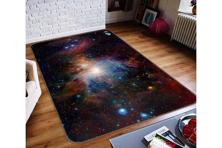 "3D Starry Sky Nebula 145 Non Slip Rug Mat, 160cmx240cm (63""x94.5"")"