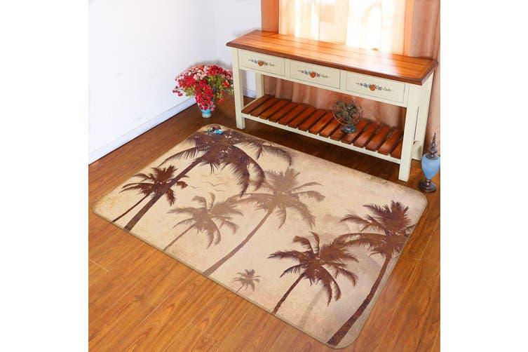 "3D Tall Coconut Trees 141 Non Slip Rug Mat, 140cmx200cm (55.1""x78.8"")"