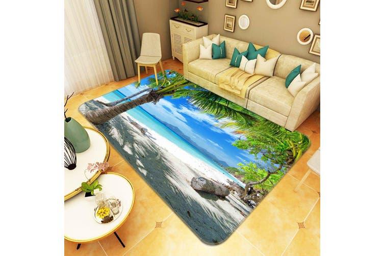 "3D Tropical Beach Scenery 142 Non Slip Rug Mat, 60cmx90cm (23.6""x35.4"")"