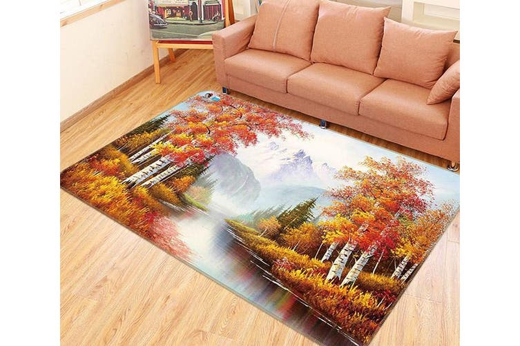 "3D Nature Scenery 140 Non Slip Rug Mat, 40cmx60cm (15.7""x23.6"")"