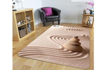 "3D Sands Stones 214 Non Slip Rug Mat, 80cmx120cm (31.4""x47.24"")"