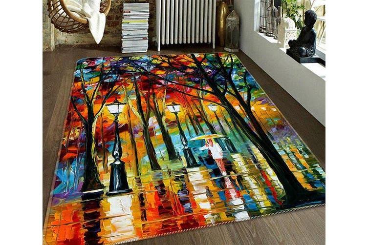 """3D Street Oil Painting 184 Non Slip Rug Mat, 60cmx90cm (23.6""""x35.4"""")"""