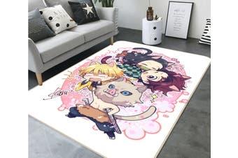 "3D Kimetsu No Yaiba 1046 Anime Non Slip Rug Mat, 80cmx120cm (31.4""x47.24"")"