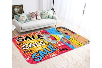 "3D Sales Woman 79 Non Slip Rug Mat, 60cmx90cm (23.6""x35.4"")"