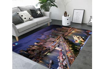 "3D City Scenery 73 Non Slip Rug Mat, 60cmx90cm (23.6""x35.4"")"