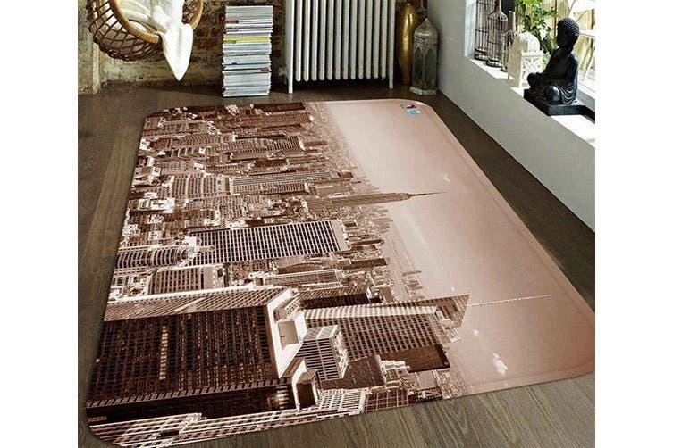 """3D New York 71 Non Slip Rug Mat, 120cmx180cm (47.2""""x70.9"""")"""