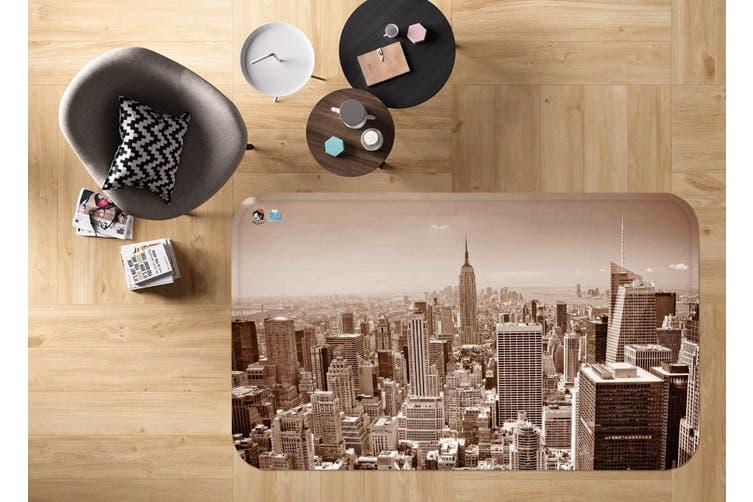 """3D New York 71 Non Slip Rug Mat, 140cmx200cm (55.1""""x78.8"""")"""