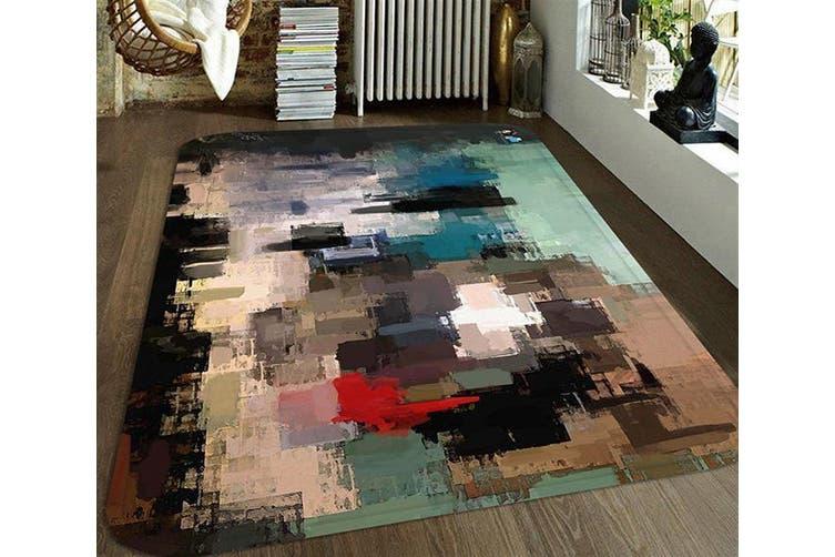 "3D Abstract Oil Painting 70 Non Slip Rug Mat, 80cmx120cm (31.4""x47.24"")"
