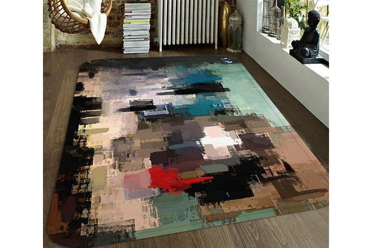 "3D Abstract Oil Painting 70 Non Slip Rug Mat, 120cmx180cm (47.2""x70.9"")"