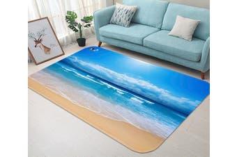 """3D Vast Blue Sea 58 Non Slip Rug Mat, 120cmx180cm (47.2""""x70.9"""")"""