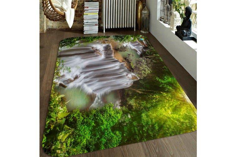 "3D River Waterfalls 22 Non Slip Rug Mat, 40cmx60cm (15.7""x23.6"")"