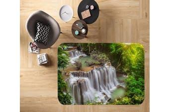 "3D River Waterfalls 22 Non Slip Rug Mat, 60cmx90cm (23.6""x35.4"")"