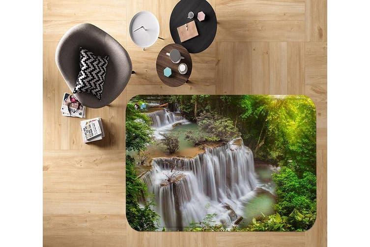 "3D River Waterfalls 22 Non Slip Rug Mat, 80cmx120cm (31.4""x47.24"")"