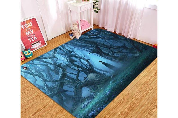 """3D Mysterious Witch 13 Non Slip Rug Mat, 60cmx90cm (23.6""""x35.4"""")"""