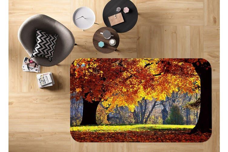 "3D Orange Trees 7 Non Slip Rug Mat, 60cmx90cm (23.6""x35.4"")"