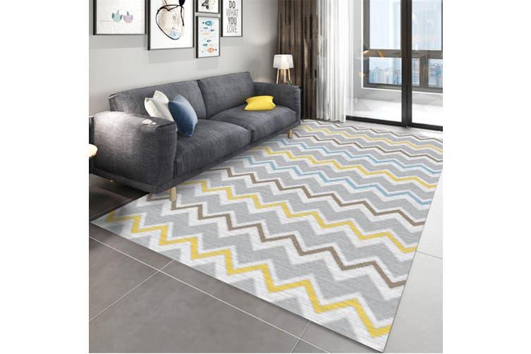 "3D Color Pattern WG271 Non Slip Rug Mat, 160cmx240cm (63""x94.5"")"