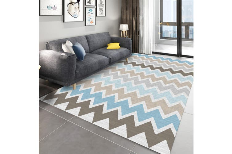 "3D Color Pattern WG268 Non Slip Rug Mat, 160cmx240cm (63""x94.5"")"
