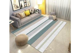 "3D Color Stripe WG263 Non Slip Rug Mat, 80cmx120cm (31.4""x47.24"")"