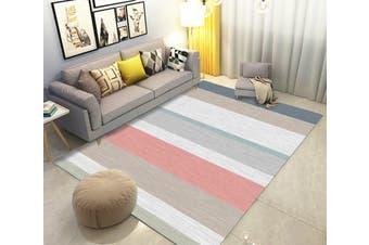 "3D Color Stripe WG260 Non Slip Rug Mat, 120cmx180cm (47.2""x70.9"")"