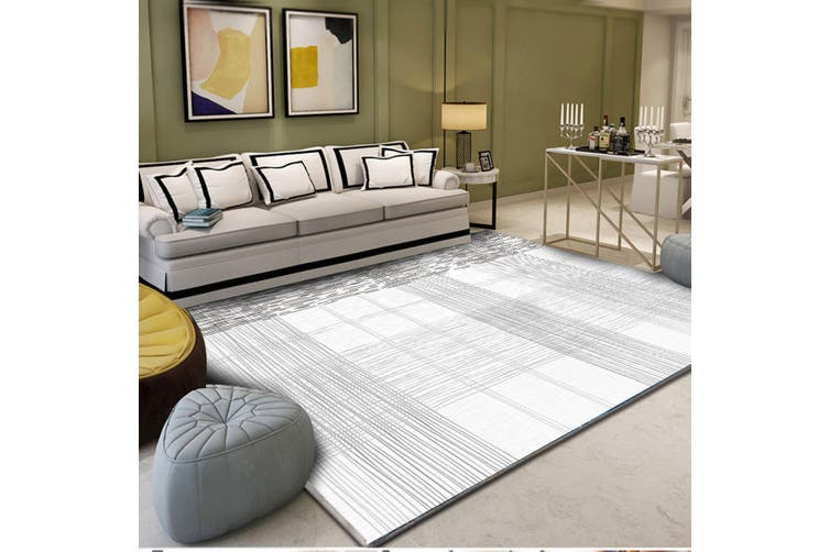 "3D Color Stripe WG247 Non Slip Rug Mat, 140cmx200cm (55.1""x78.8"")"