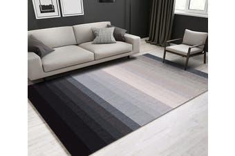 "3D Color Stripe WG246 Non Slip Rug Mat, 140cmx200cm (55.1""x78.8"")"