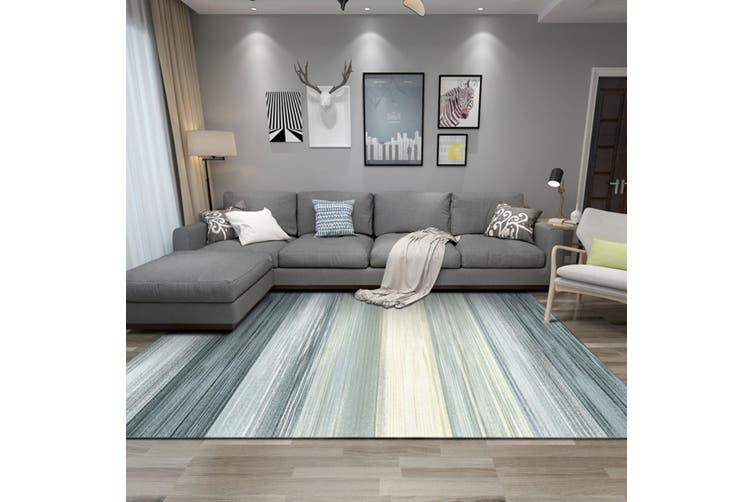 "3D Color Stripe WG241 Non Slip Rug Mat, 40cmx60cm (15.7""x23.6"")"