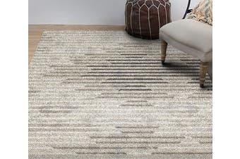 "3D Mud Stripes WG238 Non Slip Rug Mat, 160cmx240cm (63""x94.5"")"