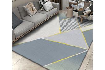 "3D Color Geometry WG211 Non Slip Rug Mat, 120cmx180cm (47.2""x70.9"")"