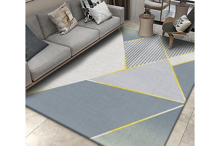 "3D Color Geometry WG211 Non Slip Rug Mat, 160cmx240cm (63""x94.5"")"