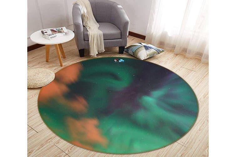 3D Hazy Cloud 159 Round Non Slip Rug Mat, 200cm(78.7'')