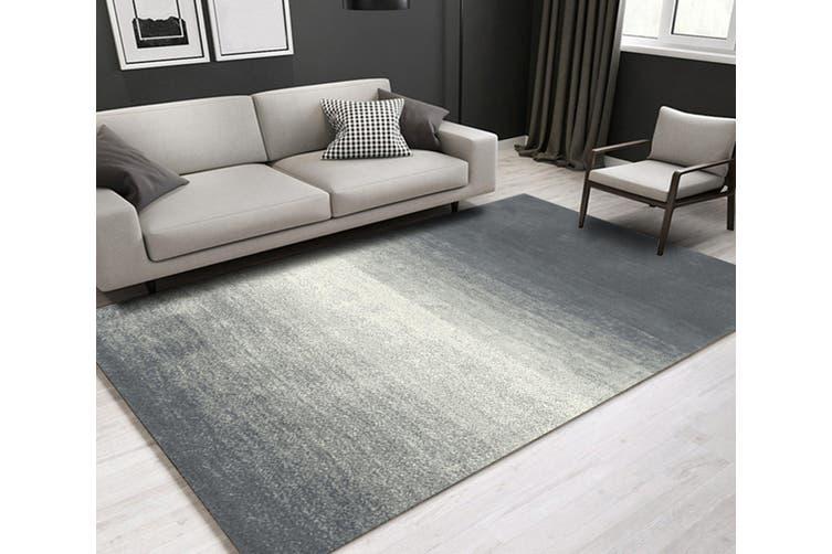 """3D Gray Stripe WG095 Non Slip Rug Mat, 60cmx90cm (23.6""""x35.4"""")"""