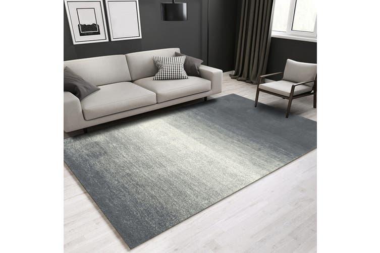 """3D Gray Stripe WG095 Non Slip Rug Mat, 120cmx180cm (47.2""""x70.9"""")"""