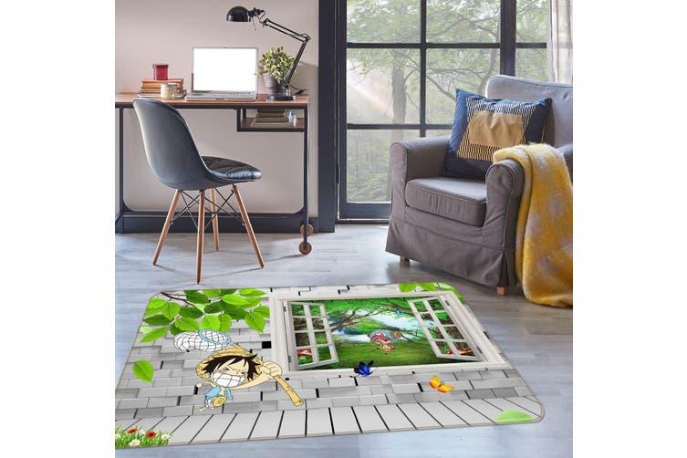 3D Windows Luffy 35236 Non Slip Rug Mat