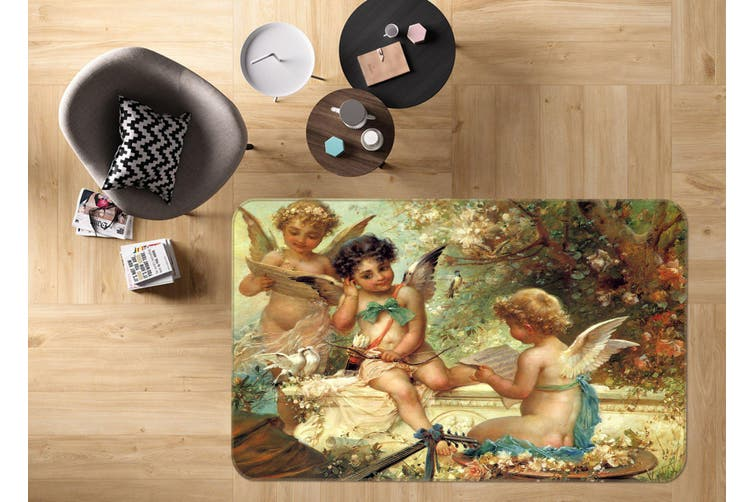 3D Little Angel 35216 Non Slip Rug Mat