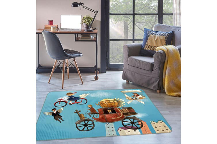 3D Bicycle Tricycle 35215 Non Slip Rug Mat