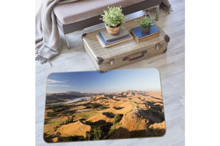 3D Mountains 35185 Non Slip Rug Mat