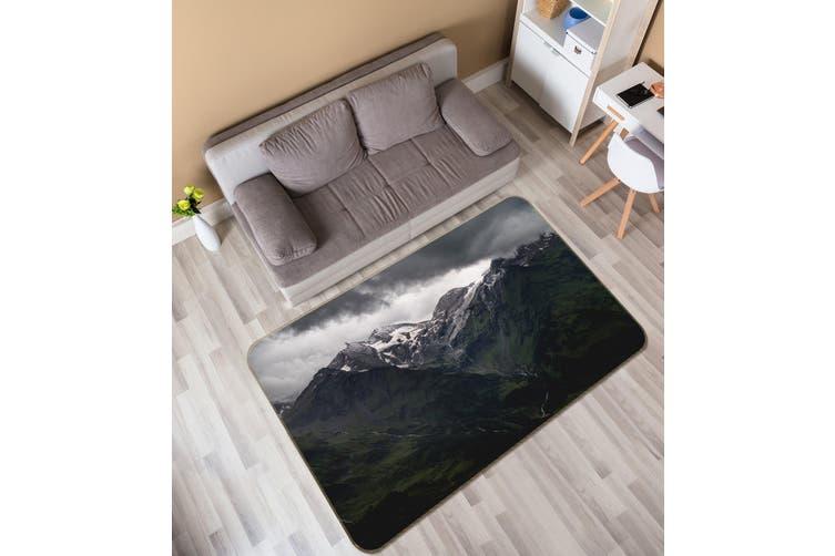 3D Mountains 35182 Non Slip Rug Mat