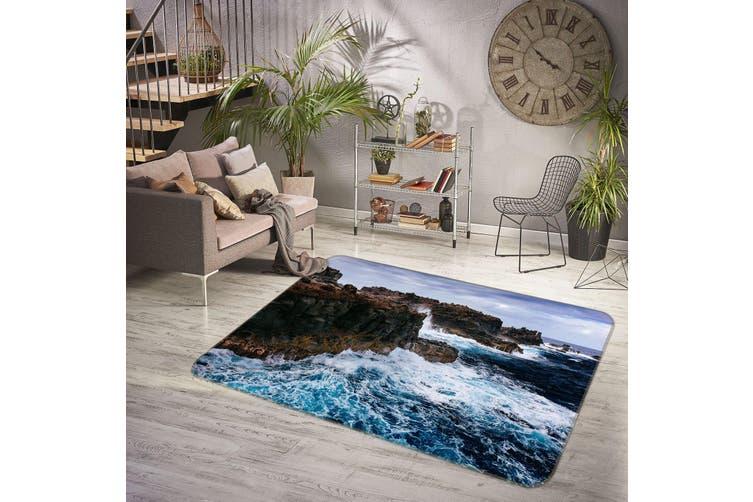 3D Sea Stone 35181 Non Slip Rug Mat