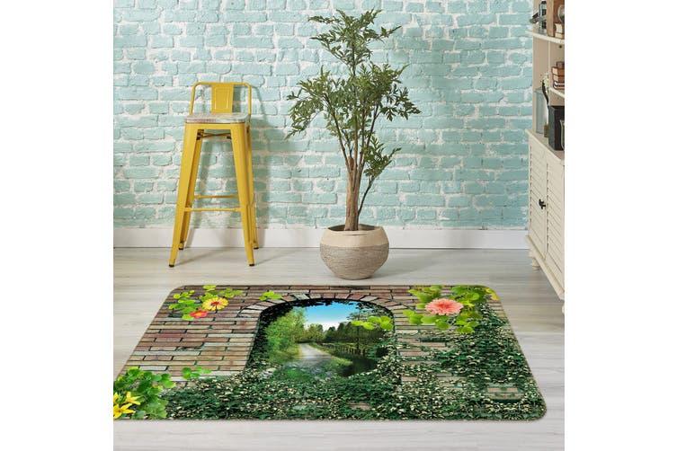 3D Grass Doorway 35165 Non Slip Rug Mat
