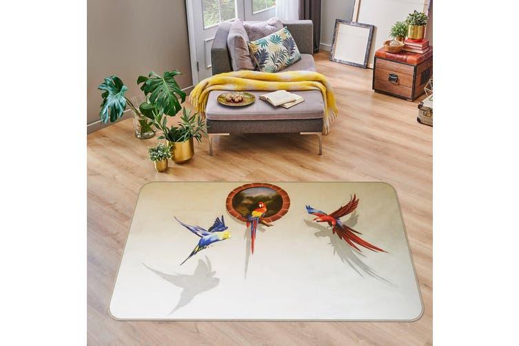 3D Parrot 35162 Non Slip Rug Mat